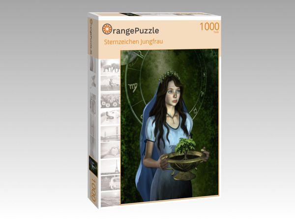 "Puzzle Motiv ""Sternzeichen Jungfrau"" - Puzzle-Schachtel zu 1000 Teile Puzzle"
