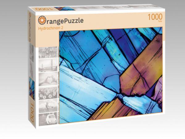 """Puzzle Motiv """"Hydrochinon 2"""" - Puzzle-Schachtel zu 1000 Teile Puzzle"""