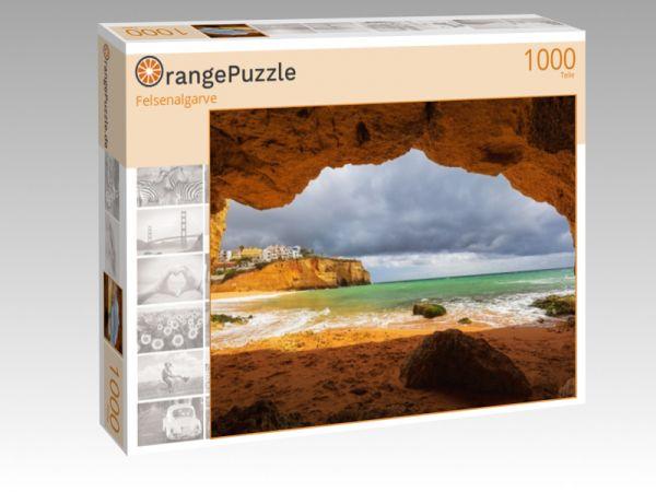 """Puzzle Motiv """"Felsenalgarve"""" - Puzzle-Schachtel zu 1000 Teile Puzzle"""