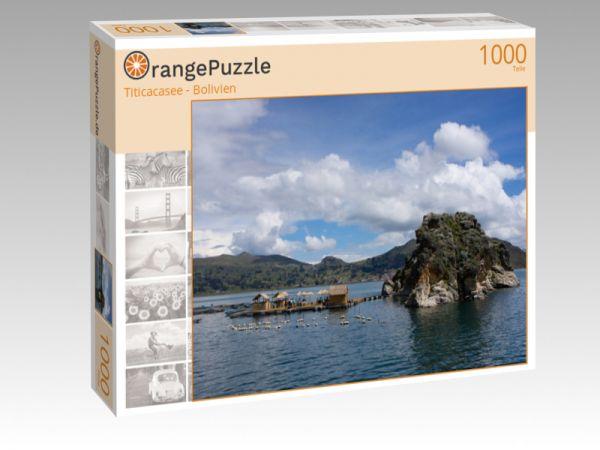 "Puzzle Motiv ""Titicacasee - Bolivien"" - Puzzle-Schachtel zu 1000 Teile Puzzle"