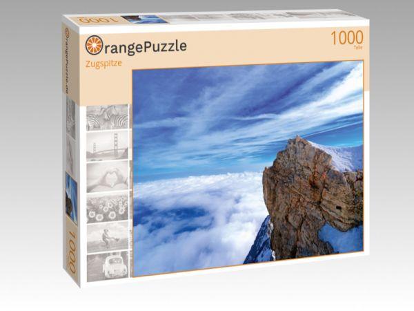 "Puzzle Motiv ""Zugspitze"" - Puzzle-Schachtel zu 1000 Teile Puzzle"