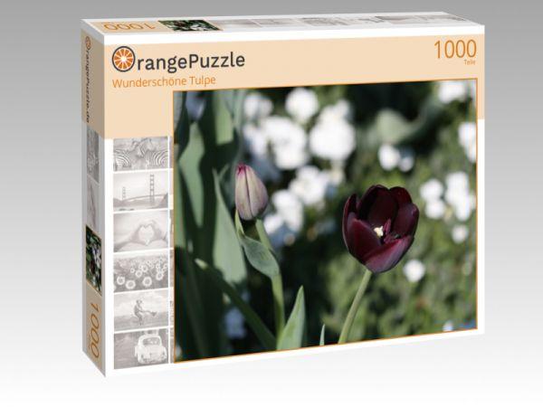 "Puzzle Motiv ""Wunderschöne Tulpe"" - Puzzle-Schachtel zu 1000 Teile Puzzle"