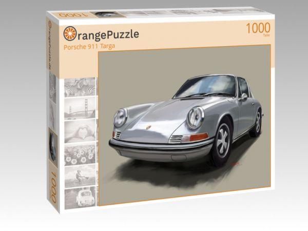 """Puzzle Motiv """"Porsche 911 Targa"""" - Puzzle-Schachtel zu 1000 Teile Puzzle"""