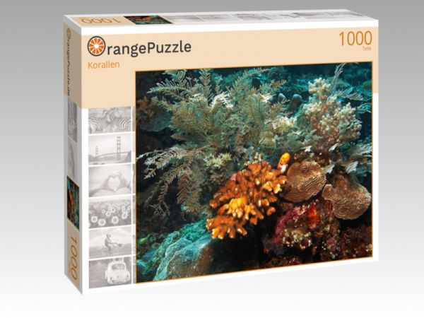 "Puzzle Motiv ""Korallen"" - Puzzle-Schachtel zu 1000 Teile Puzzle"