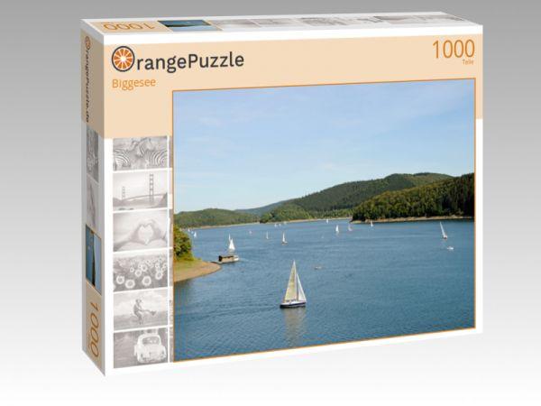 """Puzzle Motiv """"Biggesee"""" - Puzzle-Schachtel zu 1000 Teile Puzzle"""