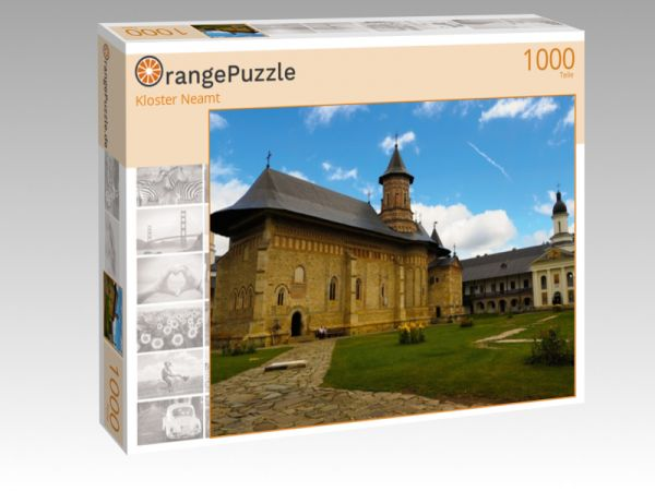 "Puzzle Motiv ""Kloster Neamt"" - Puzzle-Schachtel zu 1000 Teile Puzzle"
