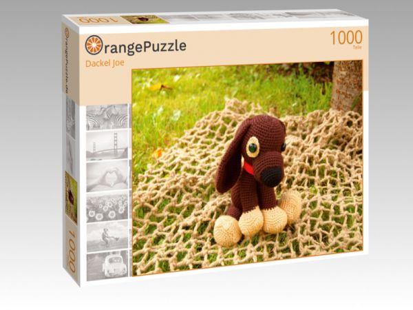 """Puzzle Motiv """"Dackel Joe"""" - Puzzle-Schachtel zu 1000 Teile Puzzle"""