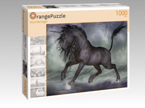 """Puzzle Motiv """"Sturmbringer"""" - Puzzle-Schachtel zu 1000 Teile Puzzle"""