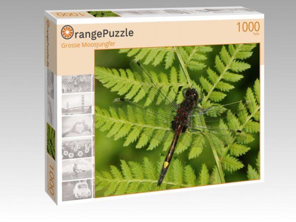 "Puzzle Motiv ""Grosse Moosjungfer"" - Puzzle-Schachtel zu 1000 Teile Puzzle"