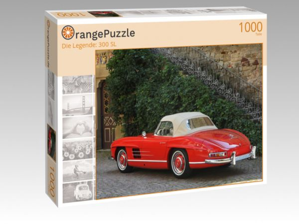"Puzzle Motiv ""Die Legende: 300 SL"" - Puzzle-Schachtel zu 1000 Teile Puzzle"