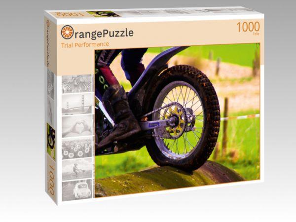 """Puzzle Motiv """"Trial Performance"""" - Puzzle-Schachtel zu 1000 Teile Puzzle"""