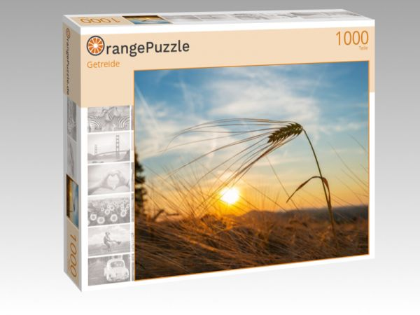 """Puzzle Motiv """"Getreide"""" - Puzzle-Schachtel zu 1000 Teile Puzzle"""