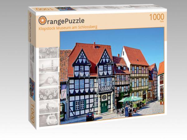 """Puzzle Motiv """"Klopstock Museum am Schlossberg"""" - Puzzle-Schachtel zu 1000 Teile Puzzle"""