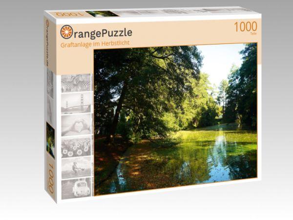 """Puzzle Motiv """"Graftanlage im Herbstlicht"""" - Puzzle-Schachtel zu 1000 Teile Puzzle"""