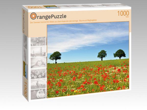 """Puzzle Motiv """"Der Sommer kommt! Ein Motiv aus dem Kalender Jahresringe - Bäume als Wegbegleiter"""" - Puzzle-Schachtel zu 1000 Teile Puzzle"""