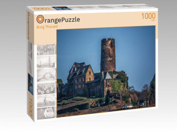 """Puzzle Motiv """"Burg Thurant"""" - Puzzle-Schachtel zu 1000 Teile Puzzle"""
