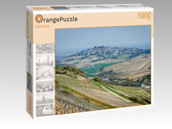 """Puzzle Motiv """"Sancerre"""" - Puzzle-Schachtel zu 1000 Teile Puzzle"""