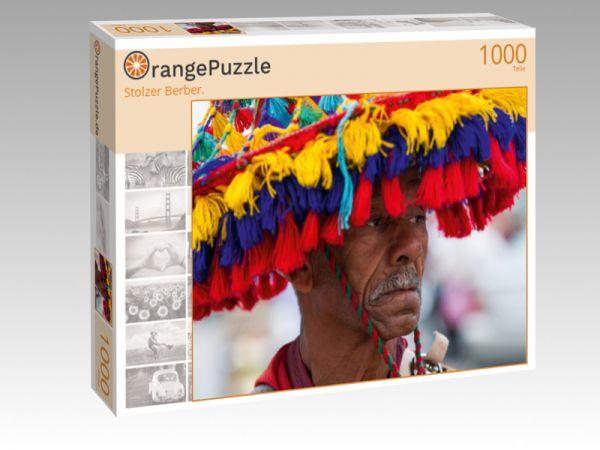 """Puzzle Motiv """"Stolzer Berber."""" - Puzzle-Schachtel zu 1000 Teile Puzzle"""