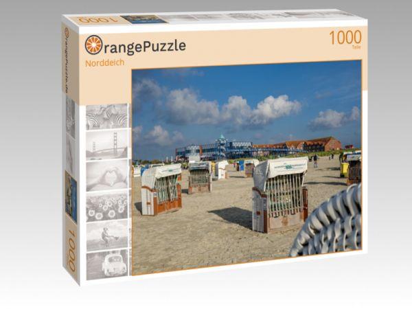 """Puzzle Motiv """"Norddeich"""" - Puzzle-Schachtel zu 1000 Teile Puzzle"""