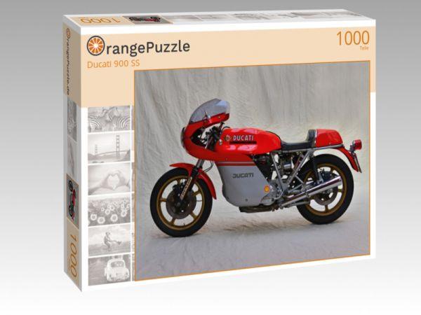 """Puzzle Motiv """"Ducati 900 SS"""" - Puzzle-Schachtel zu 1000 Teile Puzzle"""