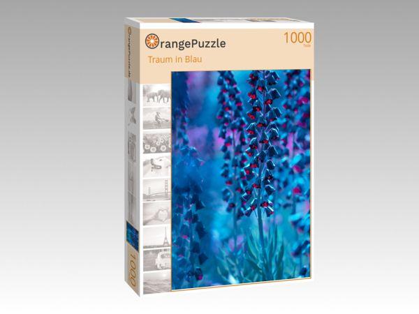 "Puzzle Motiv ""Traum in Blau"" - Puzzle-Schachtel zu 1000 Teile Puzzle"