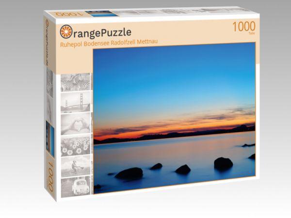 """Puzzle Motiv """"Ruhepol Bodensee Radolfzell Mettnau"""" - Puzzle-Schachtel zu 1000 Teile Puzzle"""