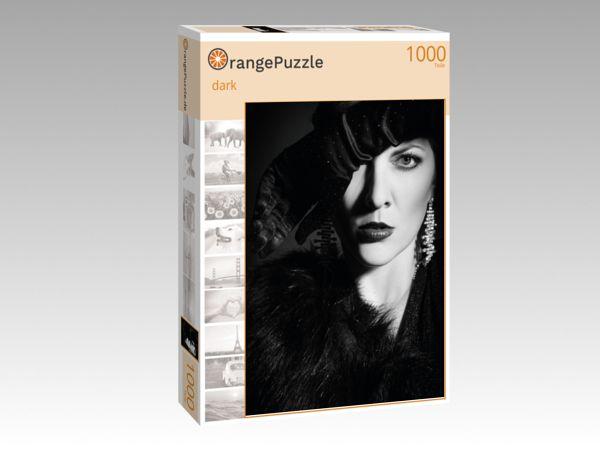 """Puzzle Motiv """"dark"""" - Puzzle-Schachtel zu 1000 Teile Puzzle"""
