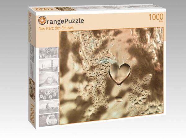 """Puzzle Motiv """"Das Herz des Flusses"""" - Puzzle-Schachtel zu 1000 Teile Puzzle"""