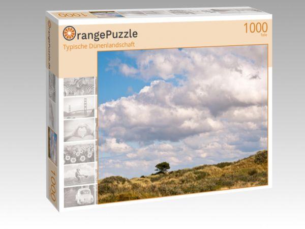 """Puzzle Motiv """"Typische Dünenlandschaft"""" - Puzzle-Schachtel zu 1000 Teile Puzzle"""