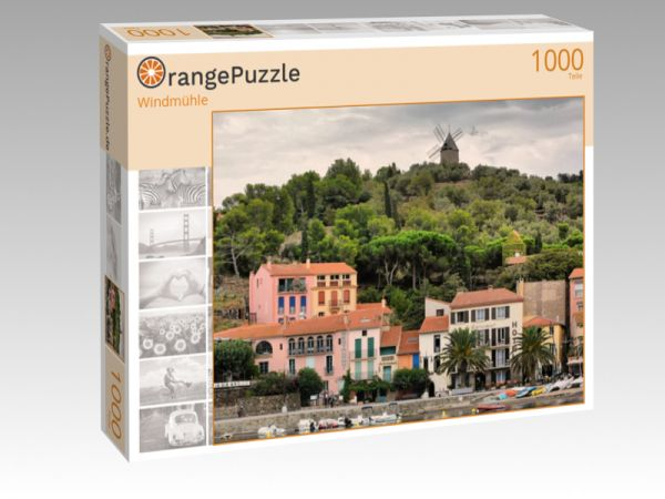 """Puzzle Motiv """"Windmühle"""" - Puzzle-Schachtel zu 1000 Teile Puzzle"""