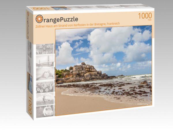 """Puzzle Motiv """"Zöllner Haus am Strand von Kerfissien in der Bretagne, Frankreich"""" - Puzzle-Schachtel zu 1000 Teile Puzzle"""