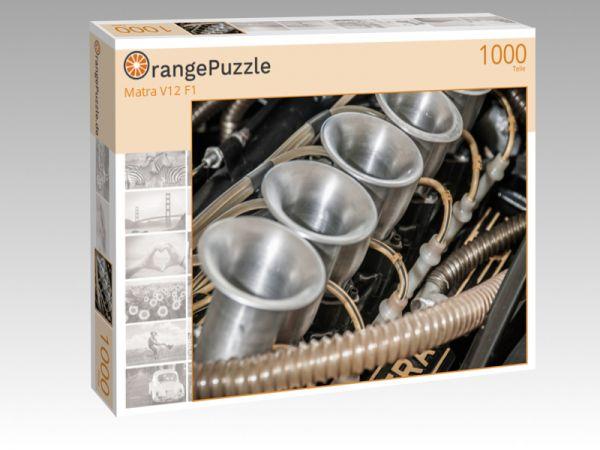 """Puzzle Motiv """"Matra V12 F1"""" - Puzzle-Schachtel zu 1000 Teile Puzzle"""