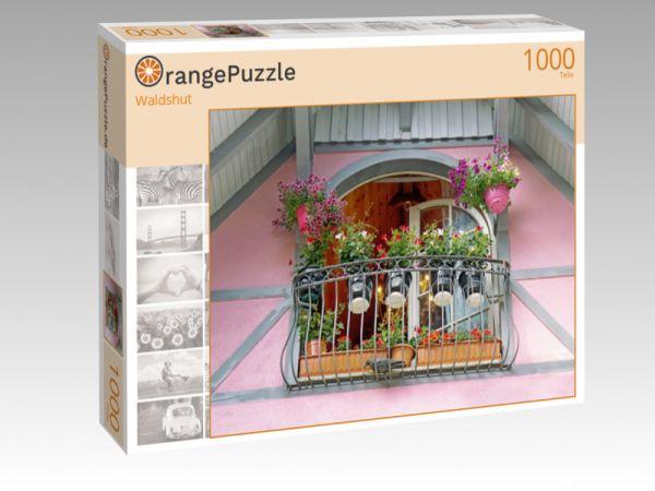 """Puzzle Motiv """"Waldshut"""" - Puzzle-Schachtel zu 1000 Teile Puzzle"""