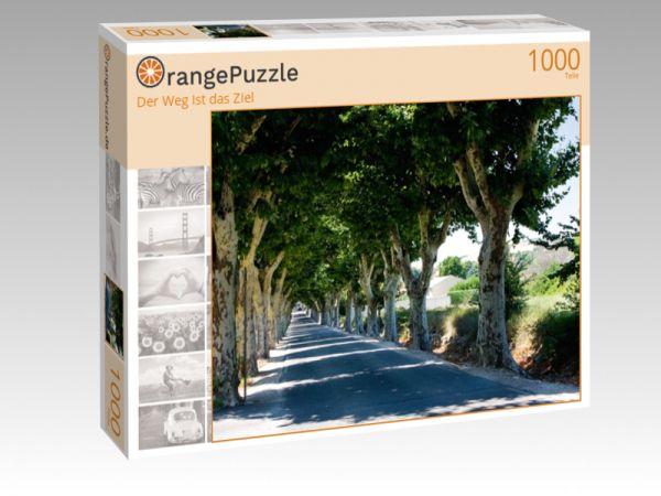 """Puzzle Motiv """"Der Weg Ist das Ziel"""" - Puzzle-Schachtel zu 1000 Teile Puzzle"""