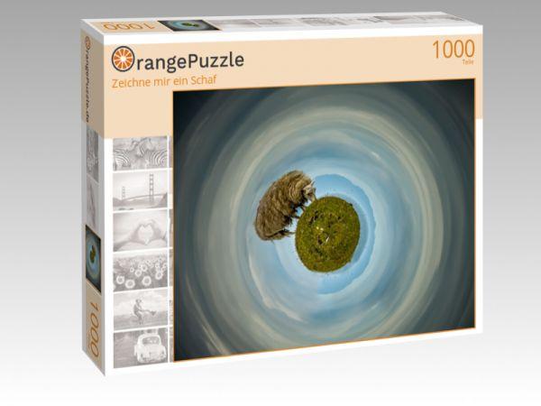 """Puzzle Motiv """"Zeichne mir ein Schaf"""" - Puzzle-Schachtel zu 1000 Teile Puzzle"""