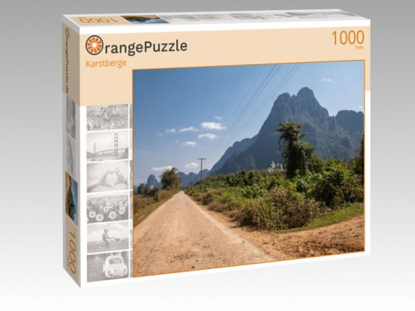 "Puzzle Motiv ""Karstberge"" - Puzzle-Schachtel zu 1000 Teile Puzzle"