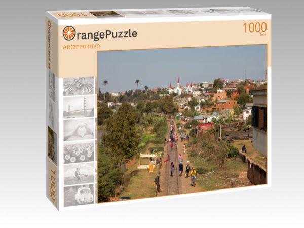 "Puzzle Motiv ""Antananarivo"" - Puzzle-Schachtel zu 1000 Teile Puzzle"