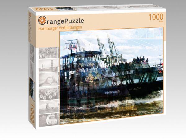 """Puzzle Motiv """"Hamburger Verbindungen"""" - Puzzle-Schachtel zu 1000 Teile Puzzle"""