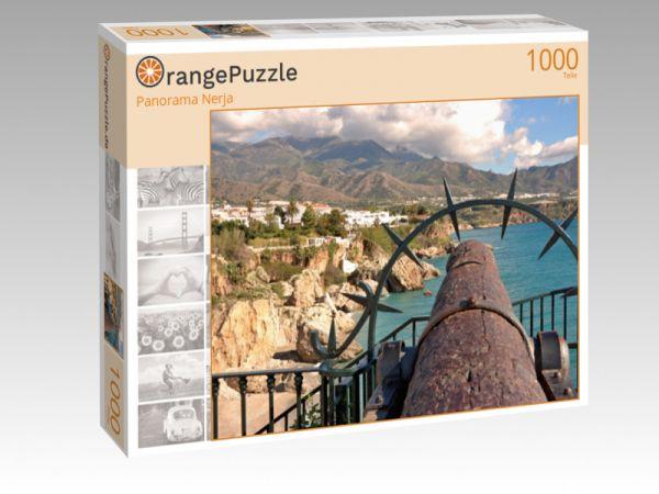 """Puzzle Motiv """"Panorama Nerja"""" - Puzzle-Schachtel zu 1000 Teile Puzzle"""