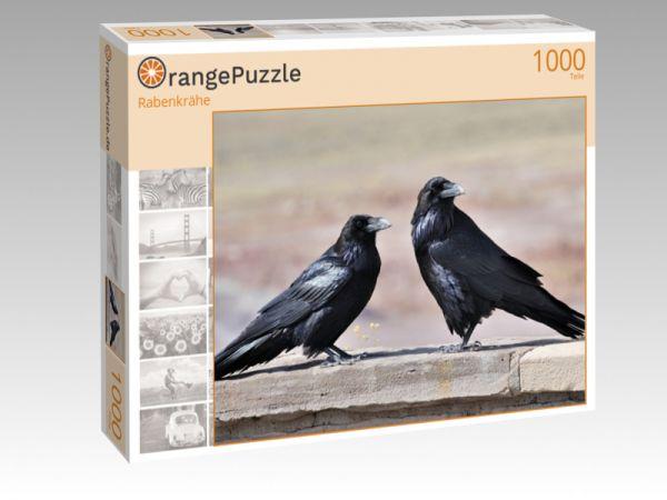 """Puzzle Motiv """"Rabenkrähe"""" - Puzzle-Schachtel zu 1000 Teile Puzzle"""