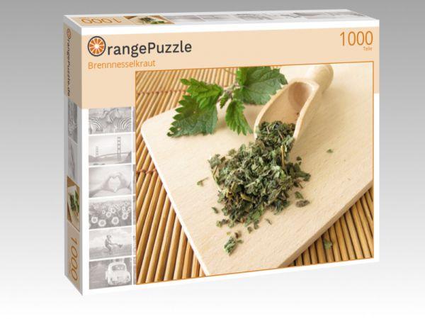 """Puzzle Motiv """"Brennnesselkraut"""" - Puzzle-Schachtel zu 1000 Teile Puzzle"""