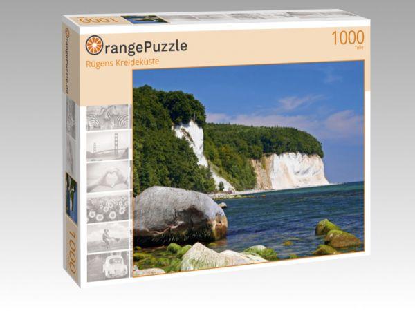 "Puzzle Motiv ""Rügens Kreideküste"" - Puzzle-Schachtel zu 1000 Teile Puzzle"