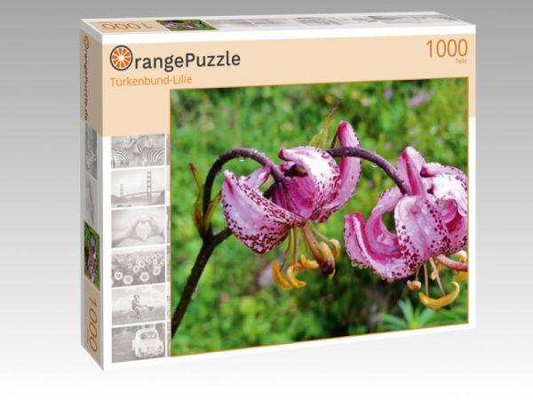 """Puzzle Motiv """"Türkenbund-Lilie"""" - Puzzle-Schachtel zu 1000 Teile Puzzle"""