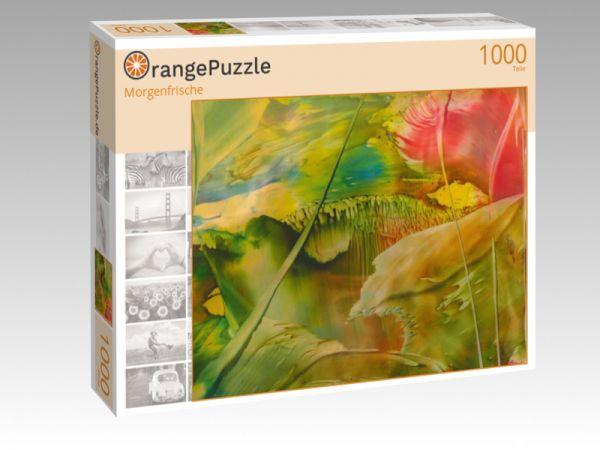 """Puzzle Motiv """"Morgenfrische"""" - Puzzle-Schachtel zu 1000 Teile Puzzle"""