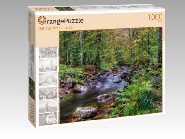 """Puzzle Motiv """"Elendtal bei Schierke"""" - Puzzle-Schachtel zu 1000 Teile Puzzle"""