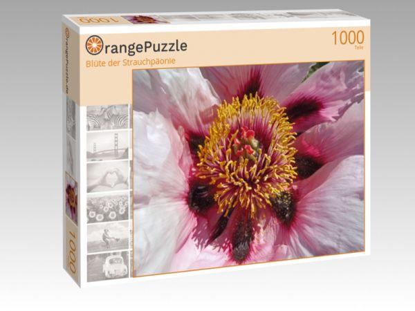 """Puzzle Motiv """"Blüte der Strauchpäonie"""" - Puzzle-Schachtel zu 1000 Teile Puzzle"""