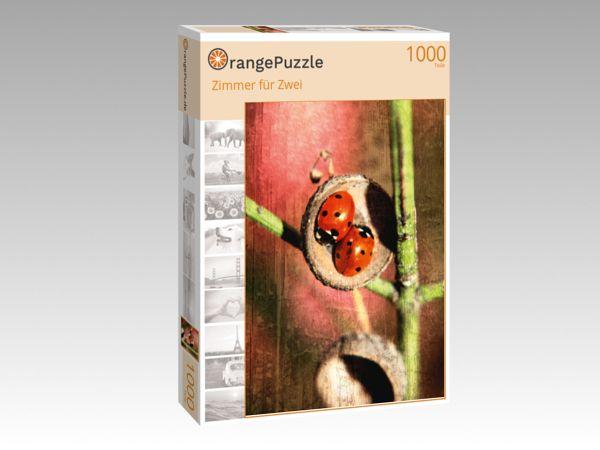 """Puzzle Motiv """"Zimmer für Zwei"""" - Puzzle-Schachtel zu 1000 Teile Puzzle"""