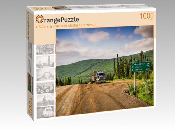 """Puzzle Motiv """"US Cars & Trucks in Alaska / CH-Version"""" - Puzzle-Schachtel zu 1000 Teile Puzzle"""