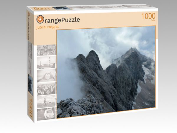 "Puzzle Motiv ""Jubiläumsgrat"" - Puzzle-Schachtel zu 1000 Teile Puzzle"