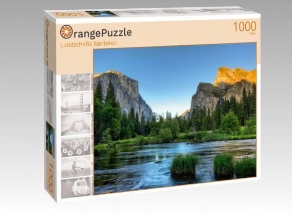 """Puzzle Motiv """"Landschafts Raritäten"""" - Puzzle-Schachtel zu 1000 Teile Puzzle"""